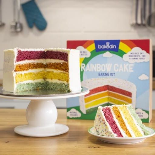 Win a Bakedin Rainbow Cake Kit!